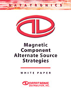 Magnetic Components Alternate Source Strategies