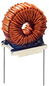 Thru hole toroidal inductor photo