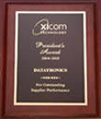 Xicom Top Rated Supplier Award